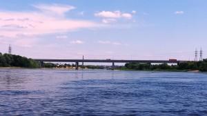 Plaukimas plaustu Česlovo Radzinausko Lampedžių tiltas